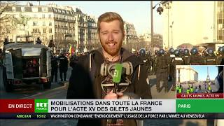 Acte 15 : retour sur les affrontements place du Trocadéro, à Paris