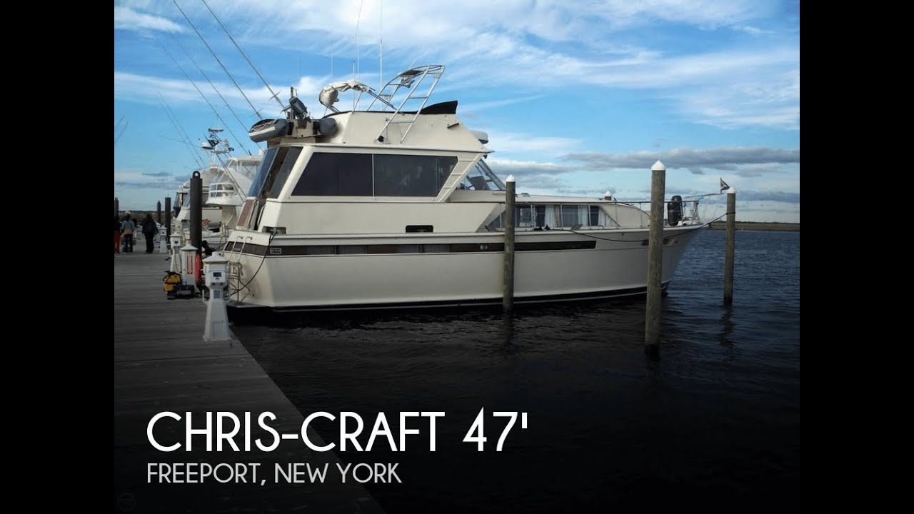 Ft Chris Craft Commander For Sale