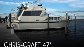 Used 1971 Chris-craft 47 Double Cabin Commander For Sale In Freeport, New York