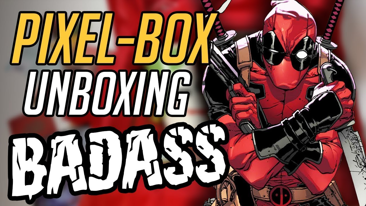 "Komiksowa paczka TWARDZIELA – Unboxing ""BADASS"" PIXELBOX"