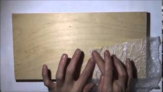 3d - Mixed Media Tree Art - Textured Wood Panel Background - Part 1 Of 3