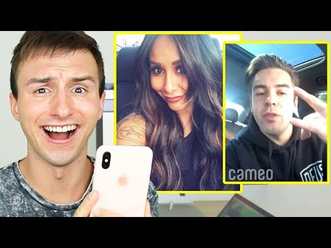 BUYING VIDEO SHOUTOUTS FROM CELEBRITIES & YOUTUBERS #4