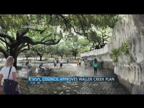 City leaders OK new Waller Creek project