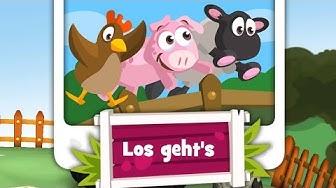 Saustall - Kinderspiel App von Ravensburger für  iPad iPhone