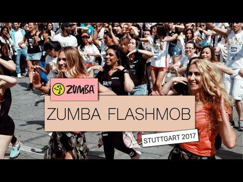 Zumba Flashmob Stuttgart (Germany) 2017 by TANZ ES Petroula Kaleadou & DANCE FITNESS by Kristin Soba