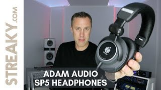 NEW RELEASE : ADAM AUDIO SP5 HEADPHONES | Streaky.com