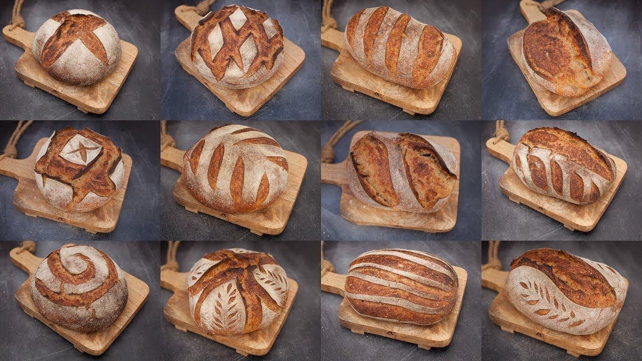 Sourdough Bread SCORING Techniques | Bread Scoring PATTERNS & DESIGNS