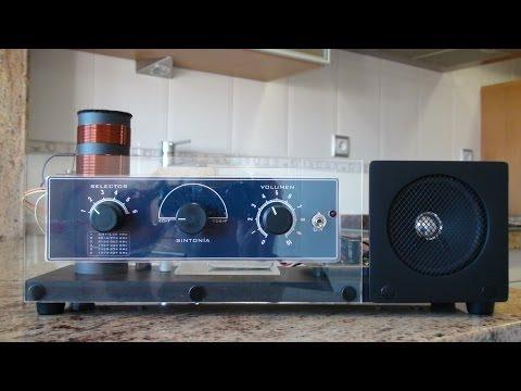 Como Hacer Una Radio De Galena / How To Make A Crystal Radio