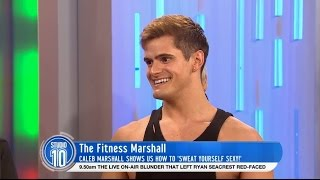 How To Sweat Ourselves Sexy w/ The Fitness Marshall | Studio 10