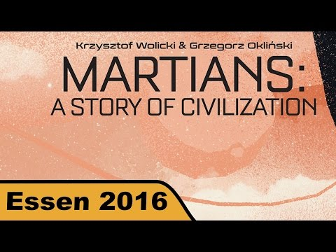 Martians: A Story of Civilization - Brettspiel - Essen 2016 live