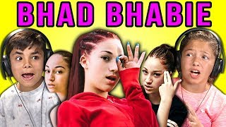KIDS REACT TO BHAD BHABIE