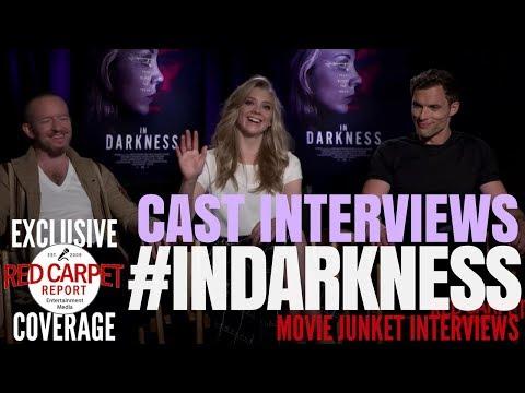 Natalie Dormer, Ed Skrein, Anthony Byrne 'In Darkness' interviewed #NowPlaying #InDarknessFilm