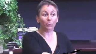 Anne Enright at the NYS Writers Institute in 2008