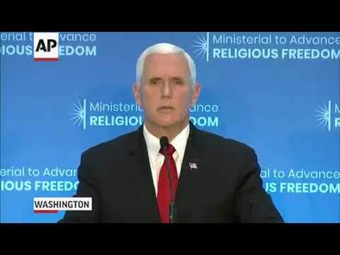 PENCE WARNS TURKEY, U.S. WILL IMPOSE SANCTIONS UNLESS PASTOR BRUNSON IS RELEASED