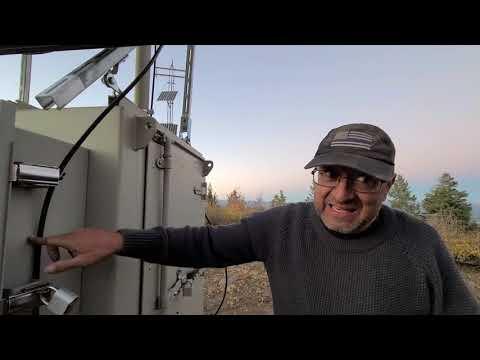 Secret Communication Tower, EMP Proof on Top Devil Mountain,  DoD Inventor, Lee Wheelbarger