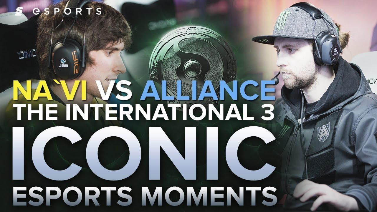 Download ICONIC Esports Moments: Na`Vi vs Alliance at TI3 ft. S4's Million Dollar Dreamcoils (Dota 2)