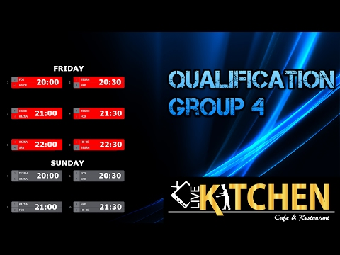 PRO LEAGUE Qualification /// Group 4 /// Sunday /// Canal