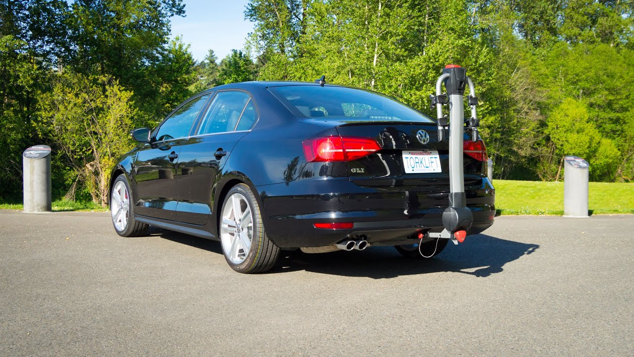 Tow Hitch Bike Rack >> 2015-2018 Volkswagen Jetta GLI EcoHitch Trailer Hitch ...