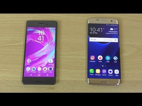 Sony Xperia X vs Samsung Galaxy S7 Edge - Full Review (4K)