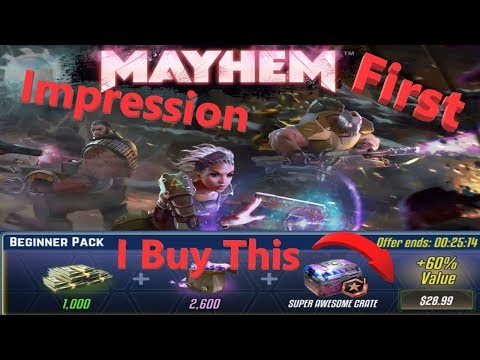 Mayhem First Impression YOU MUST PLAY THIS