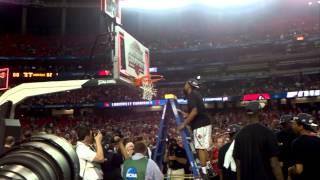 2013 National Championship: Louisville Cardinals Cut Down the Nets