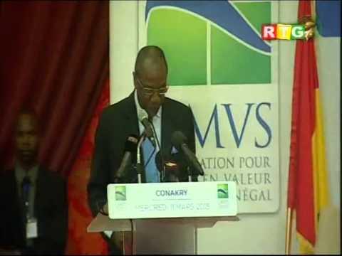 XVIè rencontre à Conakry des chefs d'Etats et de gouvernement de l'OMVS RTG du 11 mars 2015