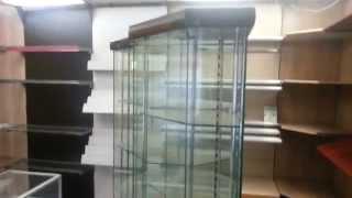 стеклянные витрины для магазинов. серия Ноэ(, 2014-04-09T09:13:46.000Z)