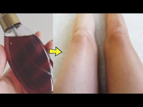 Homemade DIY Outdoor Self Tanning Lotion With Coffee