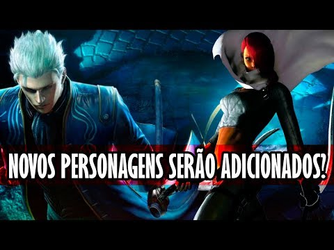 Novos personagens e Devil arms secretas | Devil May Cry 5 thumbnail