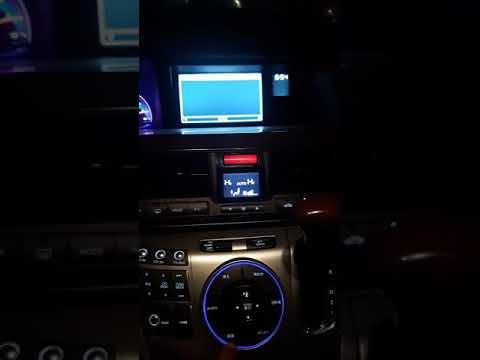 Хонда элизион отключение монитора