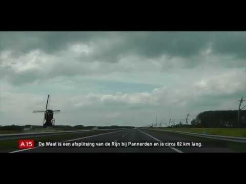 De Rijkswegen - Afl. 19: Rw15, deel 2: A15 Nijmegen - Tiel - Gorinchem - Ridderkerk