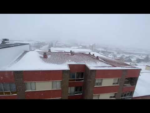 La nevada en Soria