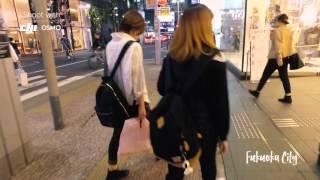 Fukuoka city - DJI OSMO - 福岡市 天神 街ぶら