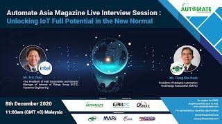 Live Interview Session: Unlocking IoT Full Potential in the New Normal