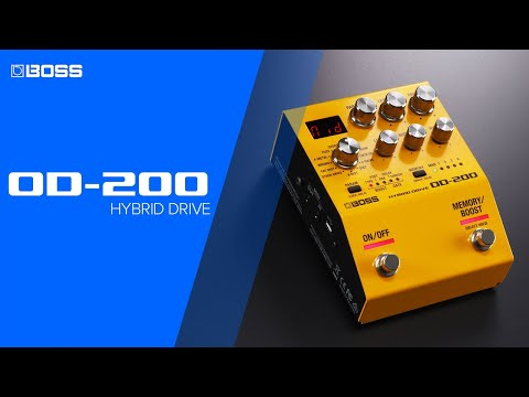 BOSS OD-200 Hybrid Drive Overview