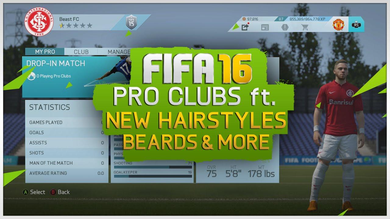 fifa 17 pro clubs updates