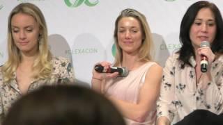 Lost Girl reunion (FULL HD PART 1) ClexaCon 2017. Zoie Palmer, Rachel Skarsten, Emily Andras.