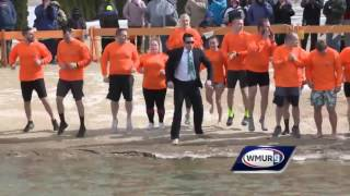 Volunteers brave bitter cold for Winni Dip
