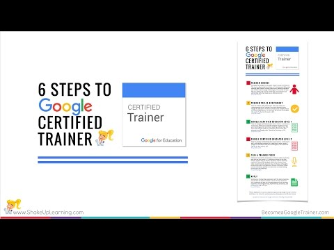 6 Steps to Google Certified Trainer (Video 1)