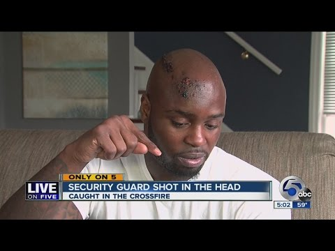 Man shot in head in downtown Cleveland shares remarkable story
