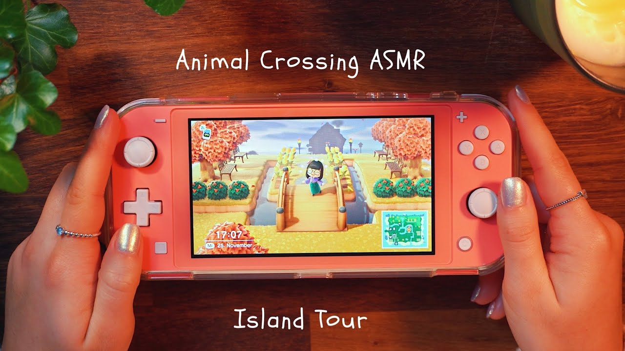 ASMR RELAXING Animal Crossing Island Tour | Dori ASMR (deutsch)