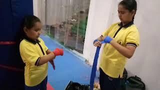 CMA Kickboxing training