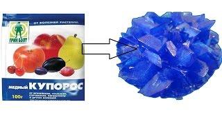 видео Как сделать кристалл из медного купороса