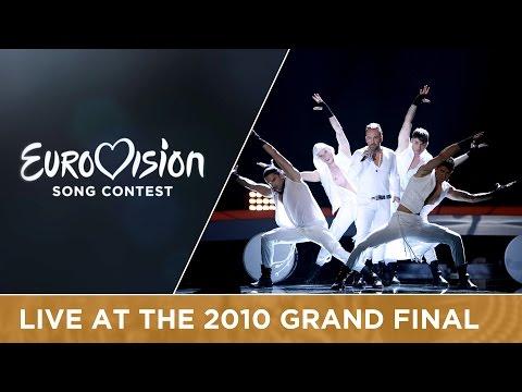Giorgos Alkaios & Friends - OPA (Greece) Live 2010 Eurovision Song Contest
