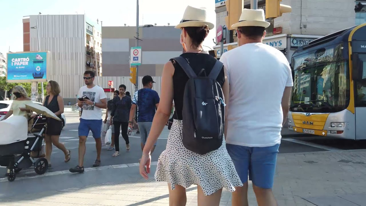 Download L'Hospitalet de Llobregat Walking Tour (September 2021) - Pubilla Cases, Collblanc, Barcelona