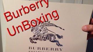 Burberry Unboxing   2014 Thumbnail