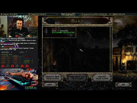 Any% HC Assassin Normal Day 7 - D2 World Record Week #4 - New Strats!!