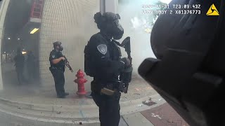 Police joke about hitting protesters with rubber bullets during Fort Lauderdale protest
