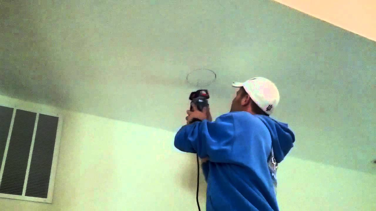 2012.01.30 - Installing remodel can lights - YouTube