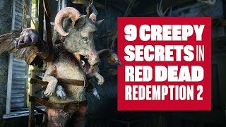 9 Creepy Secrets You May Have Missed In Red Dead Redemption 2